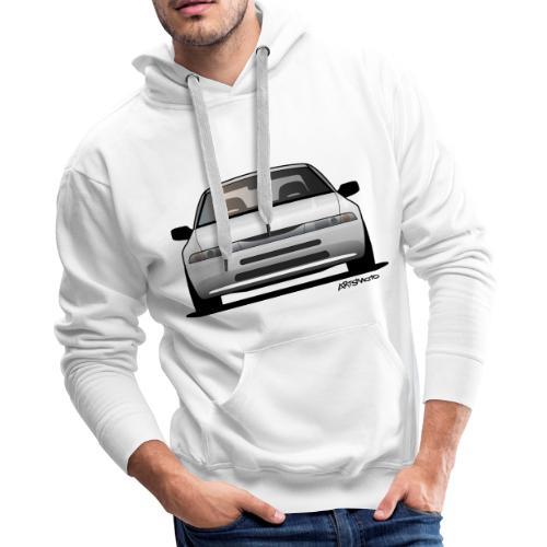 Subaru Alcyone SVX Modern JDM Icon Sticker - Men's Premium Hoodie