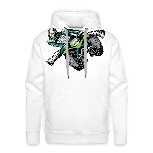 ATV Freestyle Quad Green - Men's Premium Hoodie
