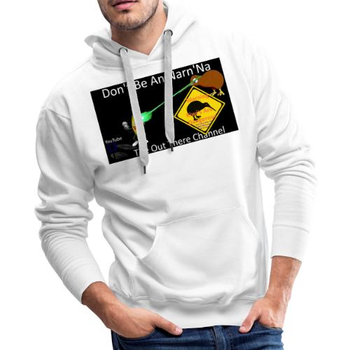 NarnNa1Tshirt with Crew Back Logo - Men's Premium Hoodie