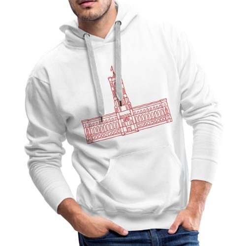 Red City Hall Berlin - Men's Premium Hoodie