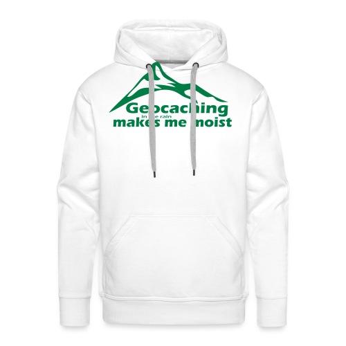 Geocaching in the Rain - Men's Premium Hoodie