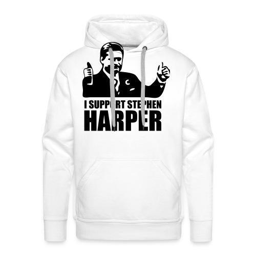 I Support Stephen Harper - Men's Premium Hoodie