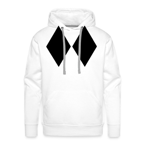 Double Black Diamond - Men's Premium Hoodie