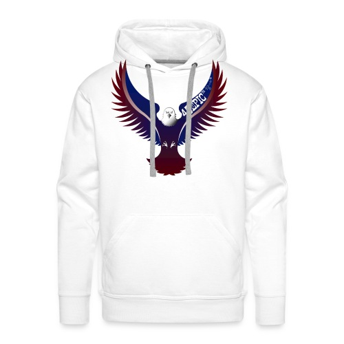 45EPIC EAGLE dx4/dt=ic Elliot McGucken Fine Art - Men's Premium Hoodie