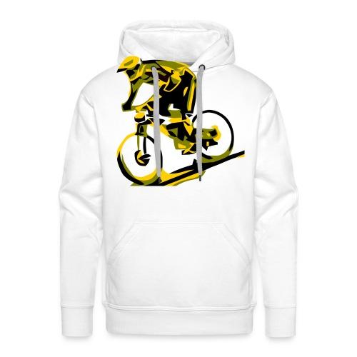 DH Freak - Mountain Bike Hoodie - Men's Premium Hoodie