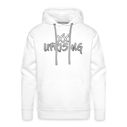 XXI Uprising Brush Text - Men's Premium Hoodie