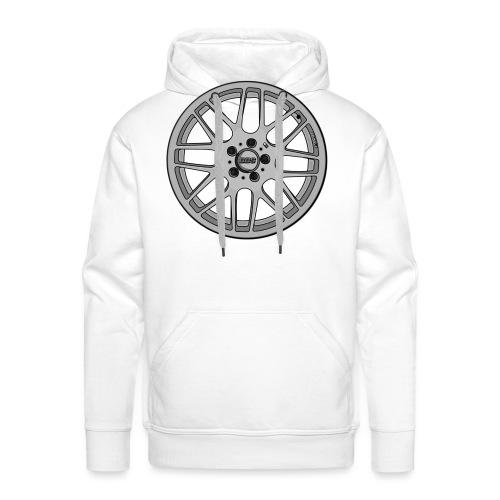 BBS M Wheel - Men's Premium Hoodie