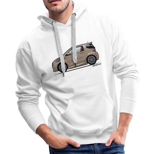 AM Cygnet Blonde Metallic Micro Car - Men's Premium Hoodie
