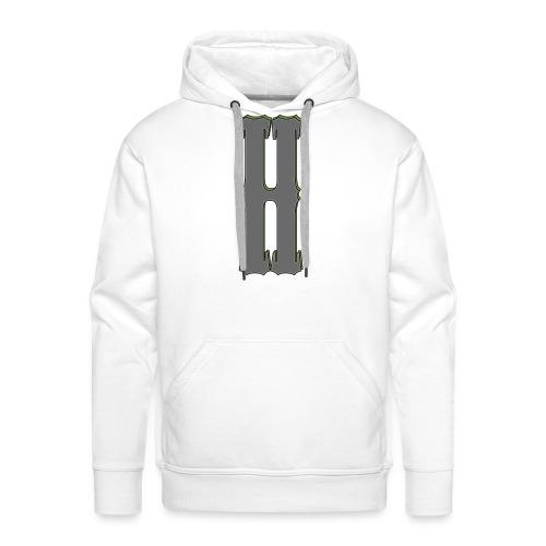 [HBS] H BADGE XL TRANS - Men's Premium Hoodie