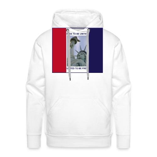 Statue of Liberty USA Freedom - Men's Premium Hoodie