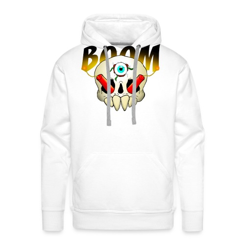 Boom Skull - Men's Premium Hoodie