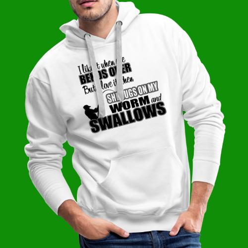 Worm & Swallows - Men's Premium Hoodie