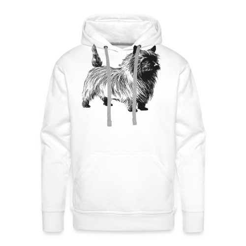 Cairn Terrier Dog - Men's Premium Hoodie