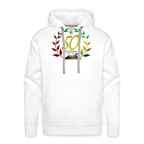 Guyana's 50th - Men's Premium Hoodie