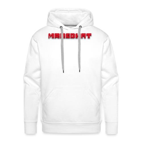 MrRedHat Plain Logo - Men's Premium Hoodie