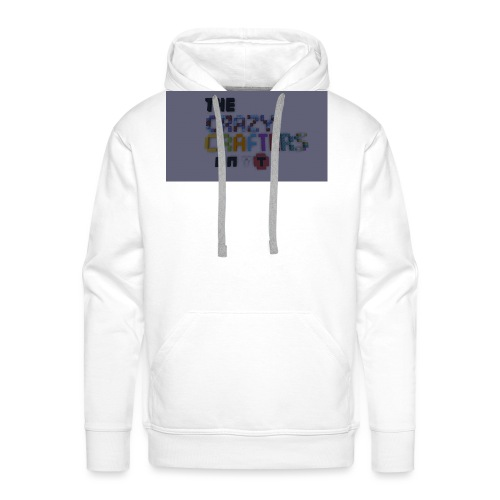 The CrAzY Crafters - Men's Premium Hoodie