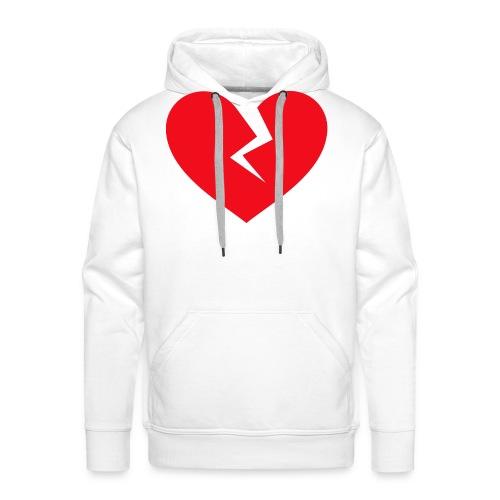 Broken Heart - Men's Premium Hoodie