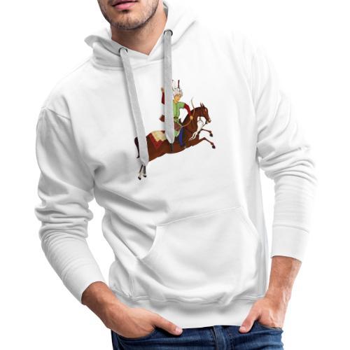 Mounted archery - Men's Premium Hoodie