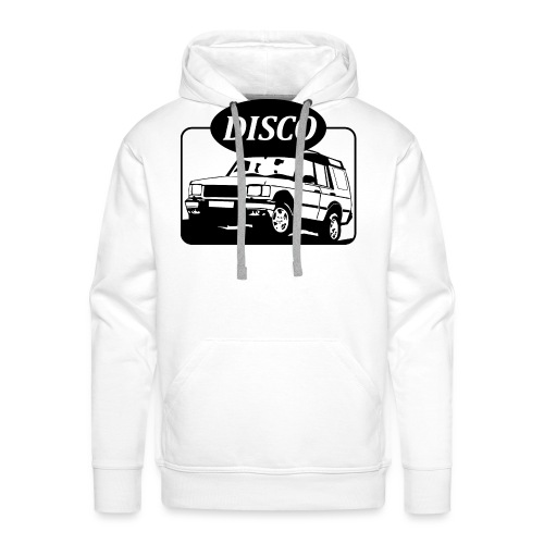 Land Rover Discovery illustration - Men's Premium Hoodie