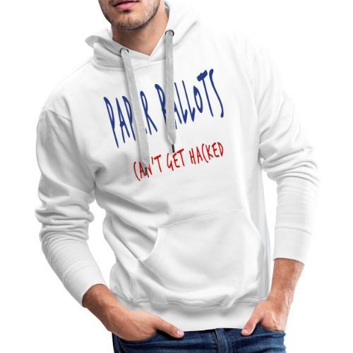 Paper Ballots T-shirts - Men's Premium Hoodie