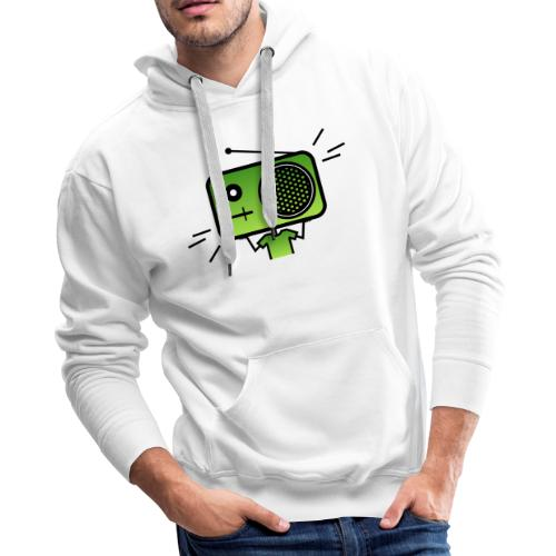 MusiqHead Green Ver 2 - Men's Premium Hoodie