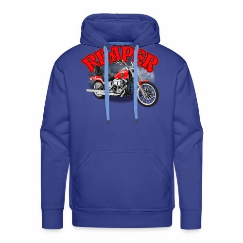 Motorcycle Reaper - Men's Premium Hoodie