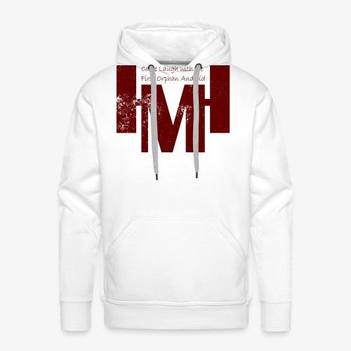 YouTube's Master Human: Grunge Underground Logo - Men's Premium Hoodie