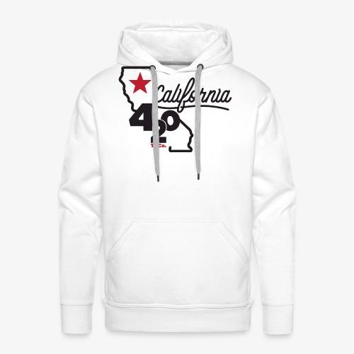 California 420 - Men's Premium Hoodie
