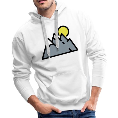 The High Mountains - Men's Premium Hoodie