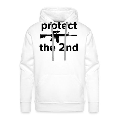 PROTECT THE 2ND - Men's Premium Hoodie