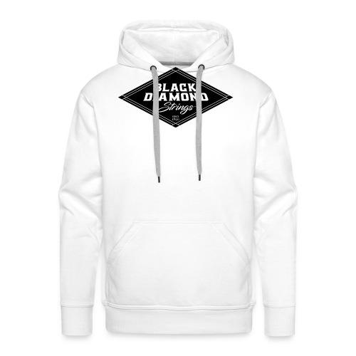 Black-Diamond-transparent - Men's Premium Hoodie
