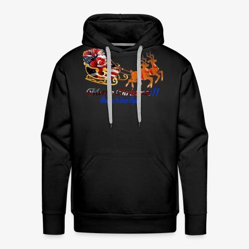 Merry Christmas-America - Men's Premium Hoodie