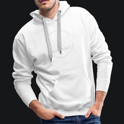 387 Entertainment White - Men's Premium Hoodie