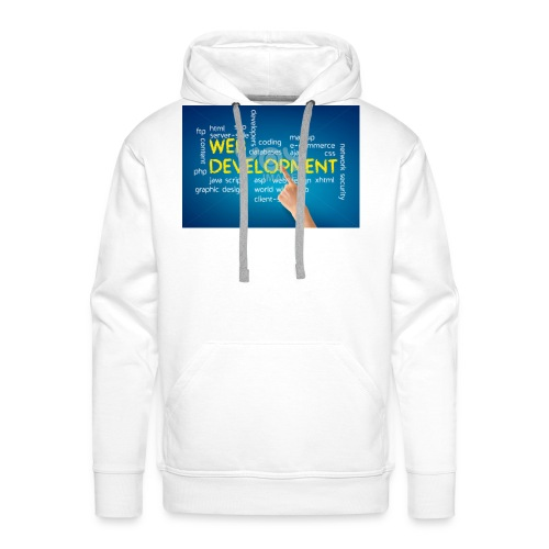 web development design - Men's Premium Hoodie