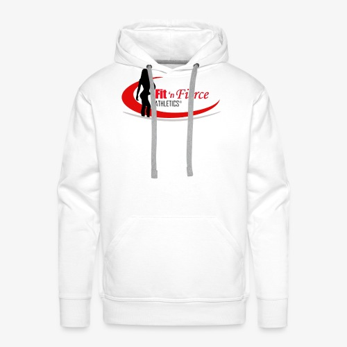 Fit 'n Fierce Athletics full logo - Men's Premium Hoodie