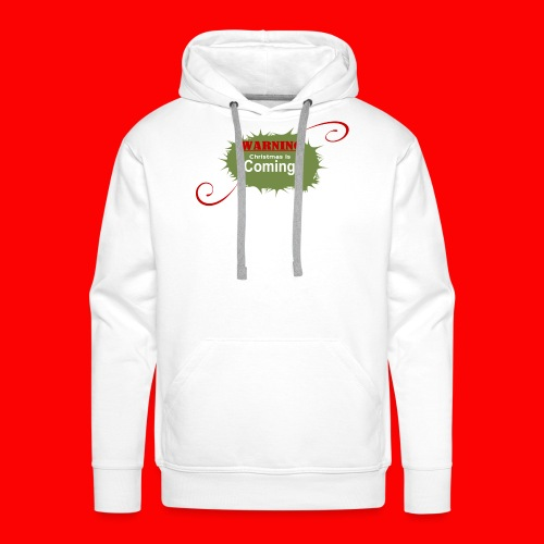 Christmas_is_Coming - Men's Premium Hoodie