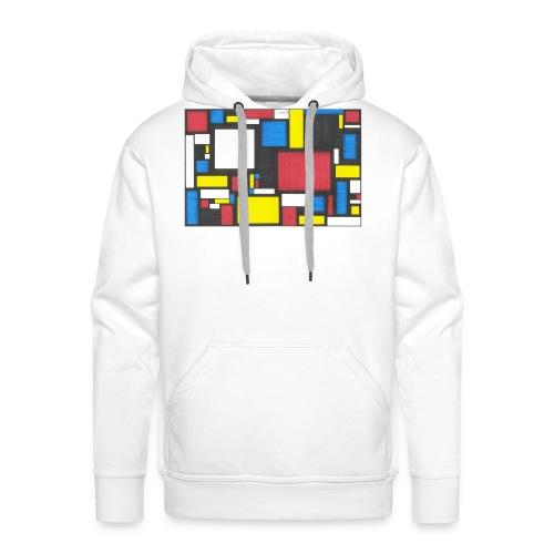 Geometric Pattern 2 - Men's Premium Hoodie