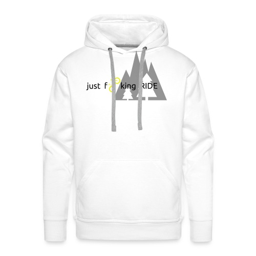 Mountain Biking JFR - Men's Premium Hoodie