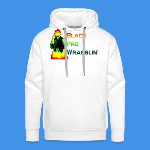 Black Pro Wrasslin - Men's Premium Hoodie