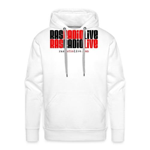 rasradiolive png - Men's Premium Hoodie
