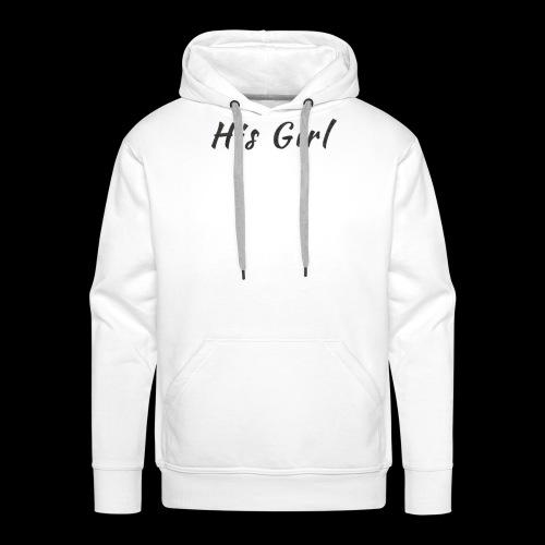 His Girl - Men's Premium Hoodie