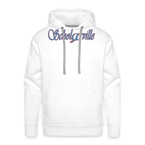 Welcome To Scholarville - Men's Premium Hoodie
