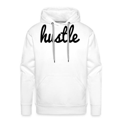 hustle vector - Men's Premium Hoodie