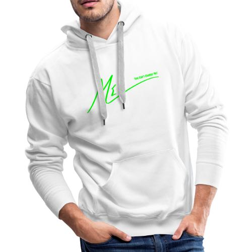 You Can't Change Me! - Men's Premium Hoodie