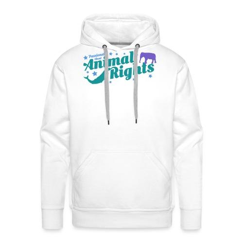 Animal Rights design - Men's Premium Hoodie
