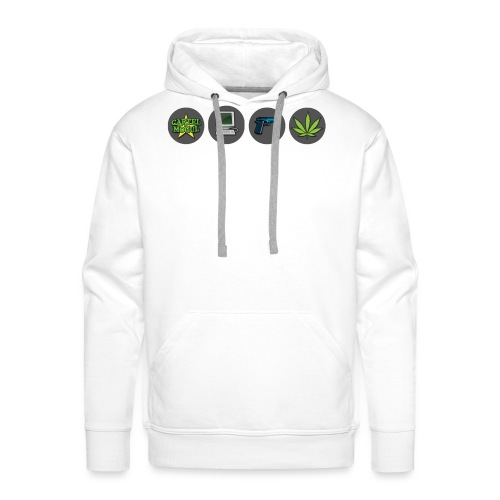 Cartel Mogul Game Icons - Men's Premium Hoodie