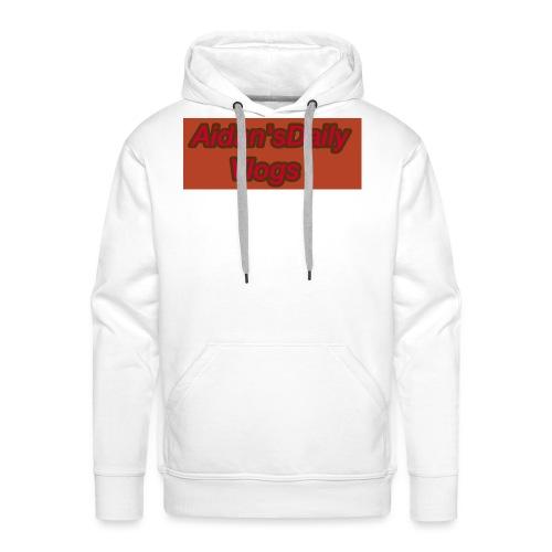 Aidan'sDailyVlogs Tshirts style#2 - Men's Premium Hoodie
