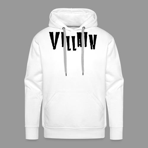 Villain - Men's Premium Hoodie