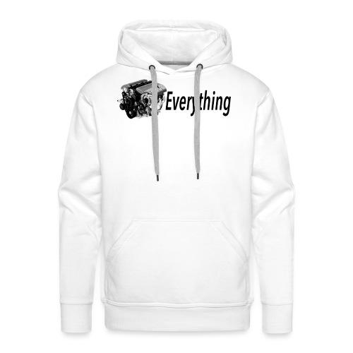 LS Everything WHITE T-shirt - Men's Premium Hoodie
