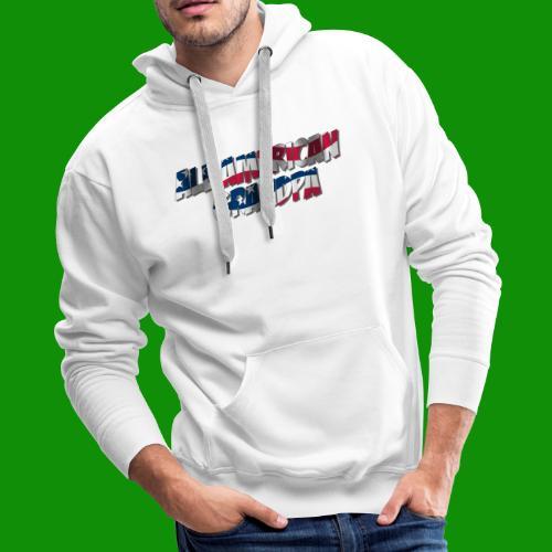 ALL AMERICAN GRANDPA - Men's Premium Hoodie